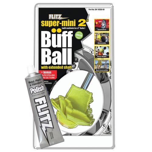 "Buff Ball | Super Mini 2"" (w/ FREE 1.76oz Paste Polish)"