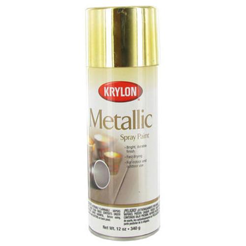 Brass Metallic Spray Paint (K02204)