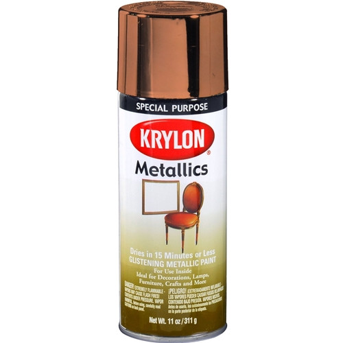 Copper Metallic Enamel Spray Paint (1709)