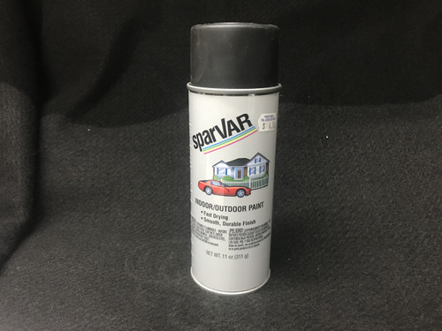 Ultra Flat Black Spray Paint (S111)