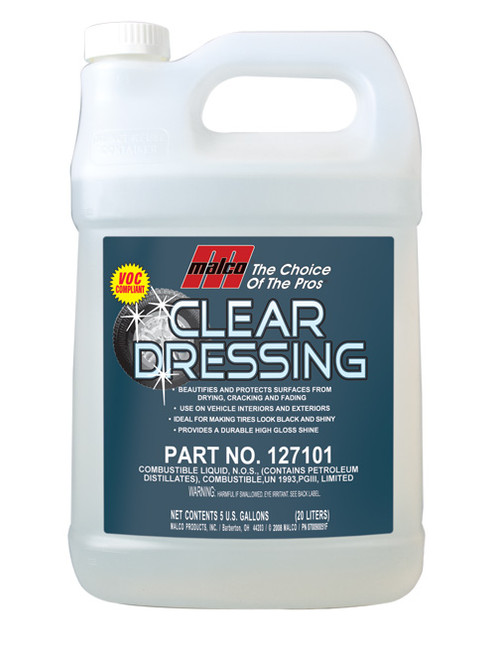 Clear Dressing  gallon