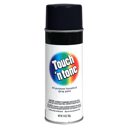 Touch N Tone Gloss Black Spray Paint (55276830)