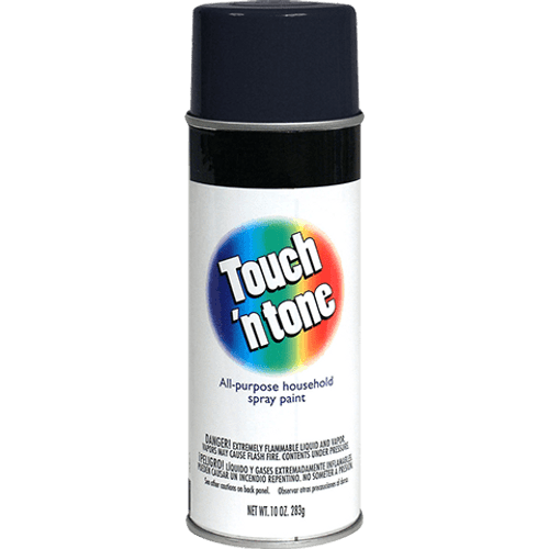 Touch N Tone Semi-Gloss Black Spray Paint (55289830)