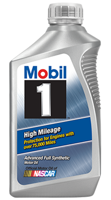 High Mileage Advanced Full Synthetic 10w-40 Motor Oil (071924149939)