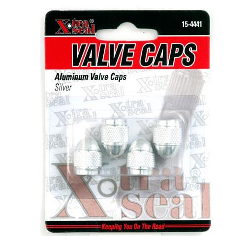 Aluminum Valve Caps-Silver (15-4441)