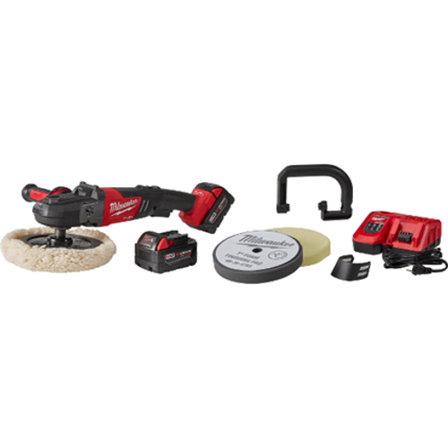"""M18 FUEL 7"""" Variable Speed Polisher Kit w/ Pads (2738-22P)"""