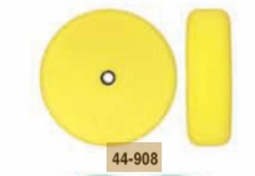 """8"""" Speedy Foam Flat Foam Double Sided Compounding Pad- Yellow (44-908)"""