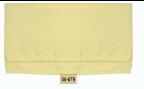Professional Waffle Weave Microfiber Towel-Yellow (86-879)