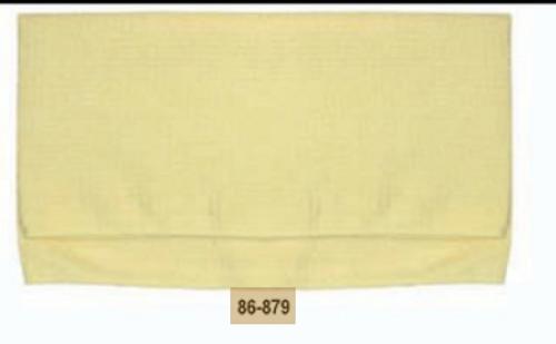 Professional Waffle Weave Microfiber Towel-Yellow (86-879)