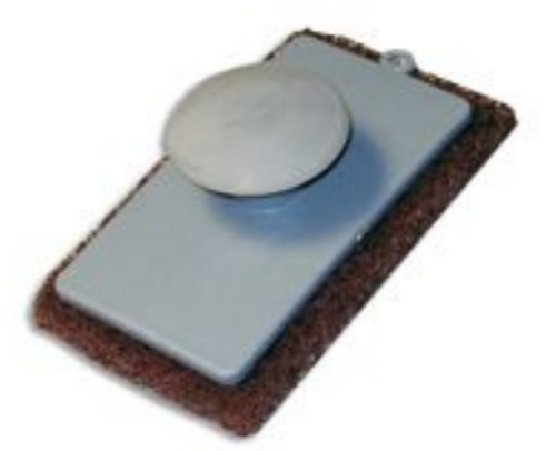 Coarse Knob Style Scrub Pad-Brown (95-492)
