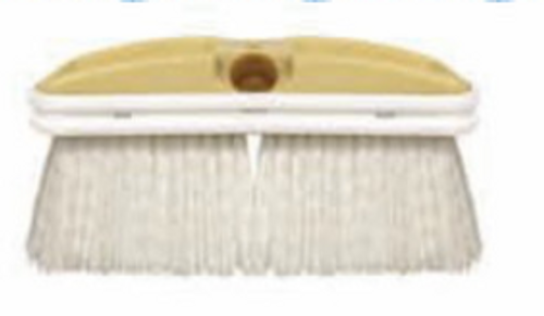White Deck Style Scrub Brush-Stiff (95-668)