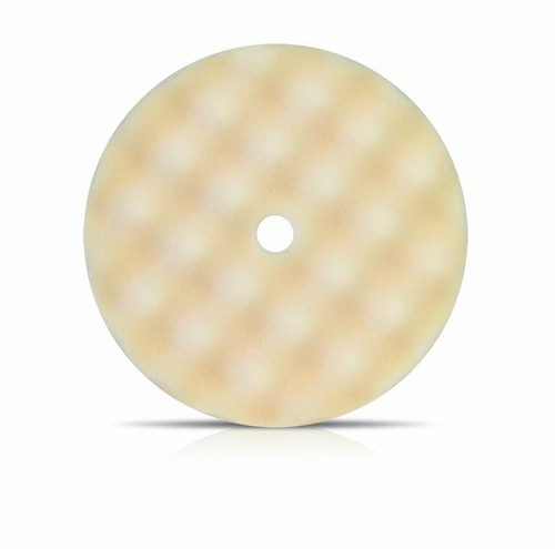 "8"" Coarse White Convoluted Face Foam Grip Pad, Recessed Back (899WG)"