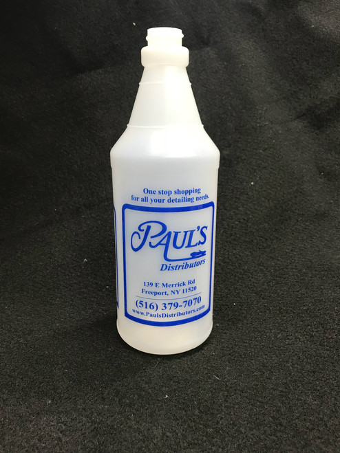 Paul's Branded 32 oz. Plastic Bottle with Molded in Graduations (139101)