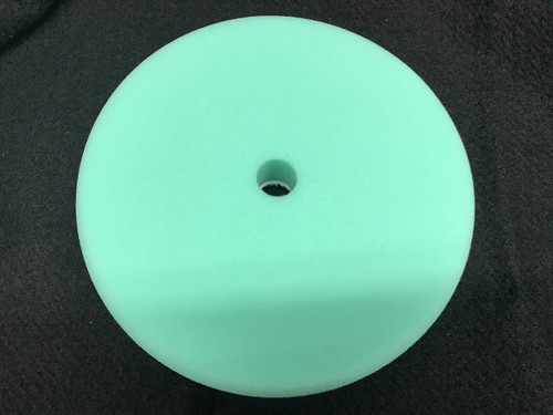 "8"" Green Foam Polish Pad, Recessed Back Grip Pad (4000G)"