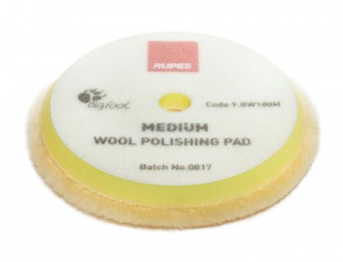 YELLOW WOOL POLISHING PAD MEDIUM (9.BW180M)