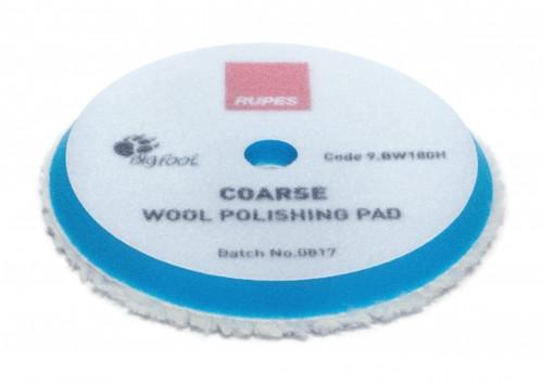 BLUE WOOL POLISHING PAD COARSE (9.BW180H)