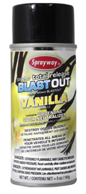 Vanilla Sprayway Blast Out Odor Eliminator (SW246)