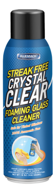 Crystal Clear Foaming Glass Cleaner (910-06)