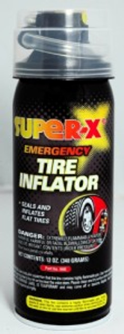 SUPER-X EMERGENCY TIRE INFLATOR WITH HOSE (660)