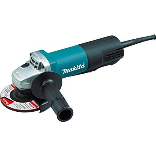 "4‑1/2"" Paddle Switch Angle Grinder, with AC/DC Switch (9557PB)"