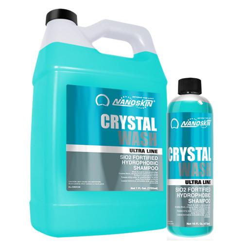 CRYSTAL WASH SiO2 Fortified Hydrophobic Shampoo (UL-CWH)