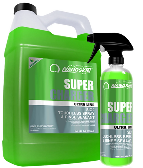 SUPER-CHARGER SiO2 Touchless Spray & Rinse Sealant (UL-SCR)