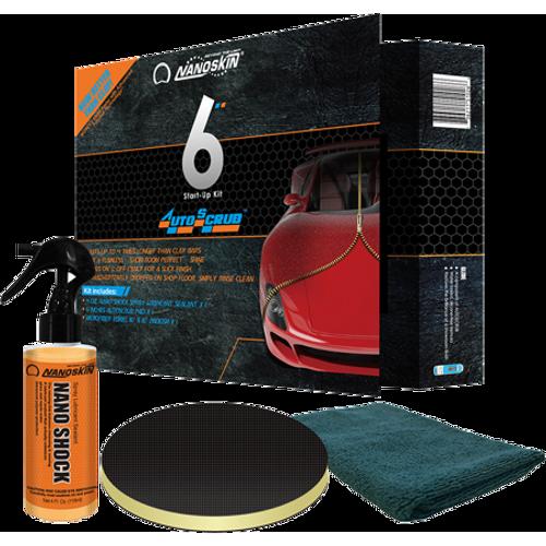 """AUTOSCRUB 6"""" Start-Up Kit for DA Polisher with Nano Shock (AS-001Shock)"""