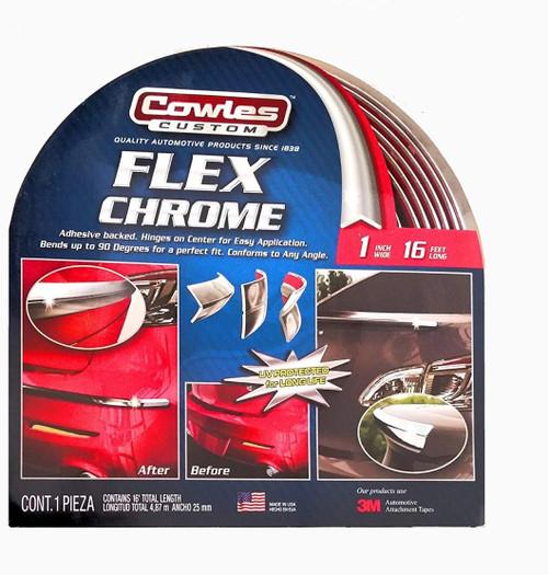 "Custom Flex Chrome 1"" x 16' (S37790)"