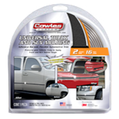 """Universal Truck and SUV Molding 2"""" x 16' (S48002)"""