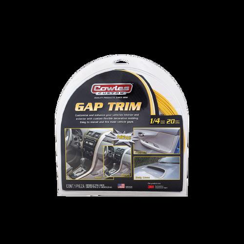 "Custom Yellow Gap Trim 1/4"" x 20' (S37529)"