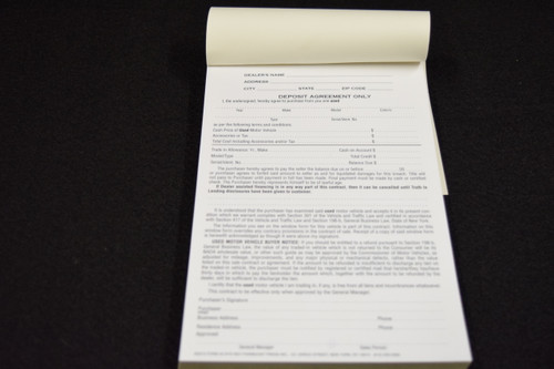 NYS Deposit Agreement