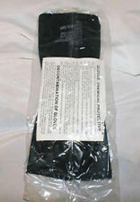 Black Chemical Protective Glove Set (8415010333518)