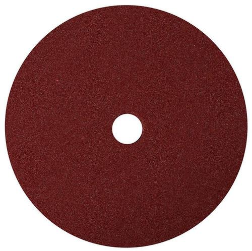 "7"" Uro-Tec Maroon Med. Cut/Polishing Foam Grip Pad (672BN)"
