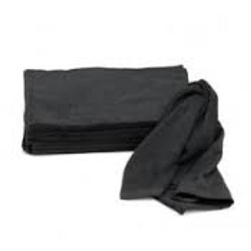 "Black Cotton Terry Towel-26""x16"" (139-200)"