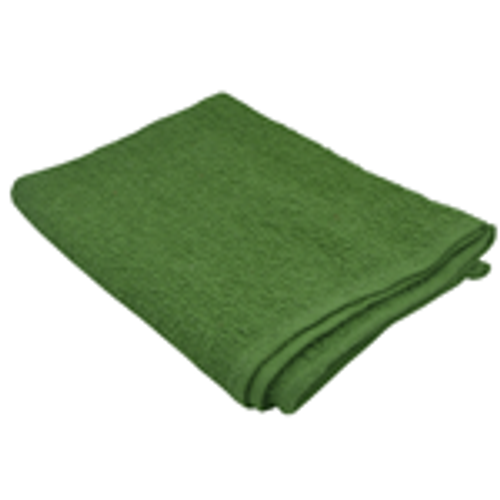 """Green Cotton Terry Towel-26""""x16"""" (139-300)"""
