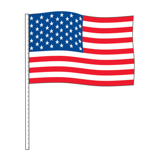 American Flag-Antenna Flag (DOZEN) (USC24)