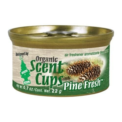 Organic Scent Cups Air Freshener Pine Fresh (076171512017)