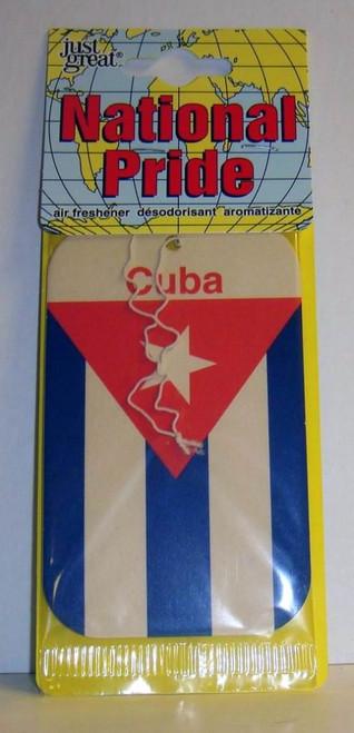 Just Great National Pride Air Freshener-Cuba (084121130259)