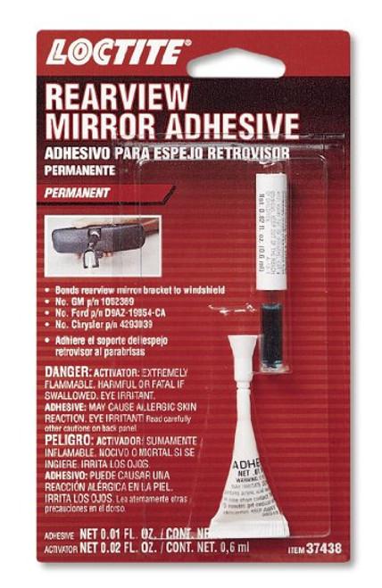 Loctite Interior Rear View Mirror Adhesive .01 oz (37438)