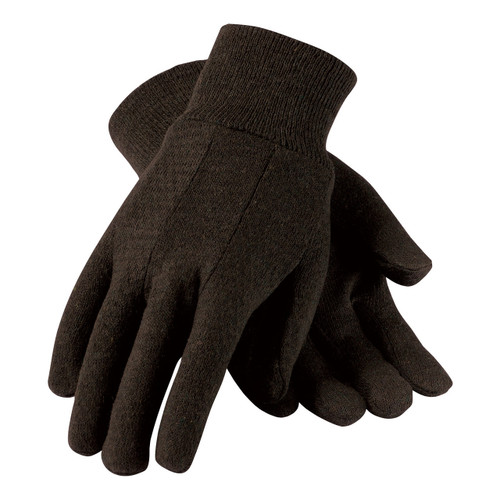 Brahma Brown Jersey Gloves Large (WA7530A)