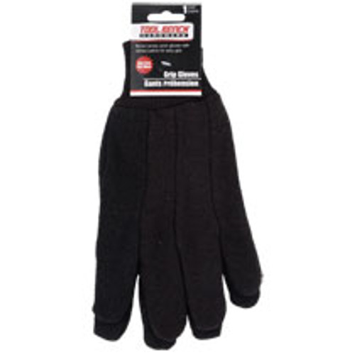 Tool Bench Brown Jersey Work Gloves (639277703118)