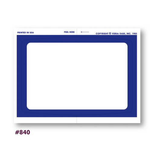 Dealer Add on Stickers Plain With Border (#840)