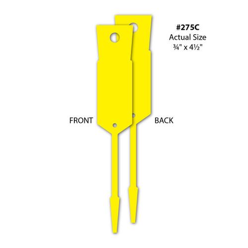 Arrow ID Tags-Yellow ( #275)