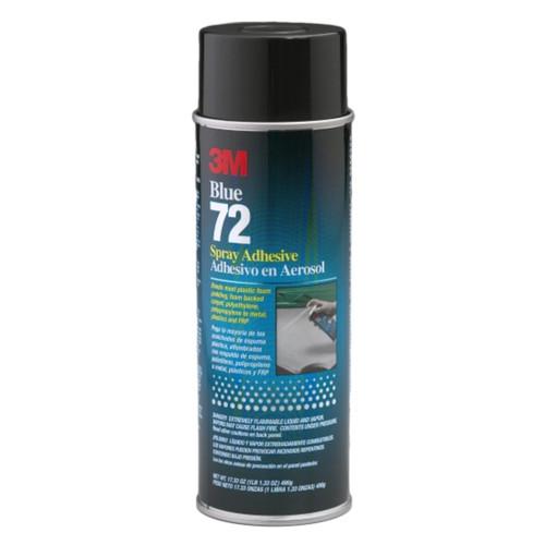 3M 30025 Pressure Sensitive Spray Adhesive 72 Blue, 24oz. Can (30025)
