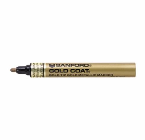 Gold Coat Bold Tip Gold Metallic Marker (66715)