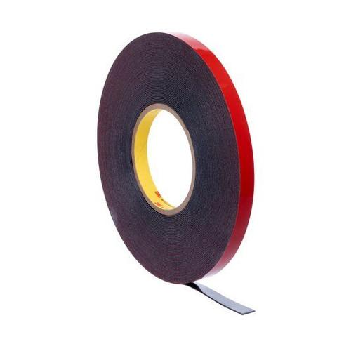 Automotive Acrylic Plus Attachment Tape 06386, Black, 1.12 mm (06386)