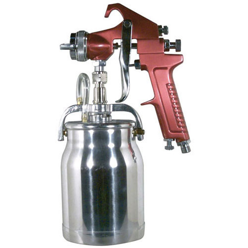 Spray Gun with Cup - Red Handle 1.8mm Nozzle (4008)
