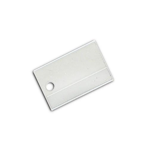 Traditional Key Tags Plastic Sleeves (SLV1)