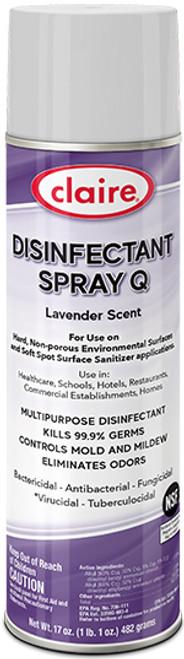DISINFECTANT SPRAY Q LAVENDER SCENT ( CL1003)