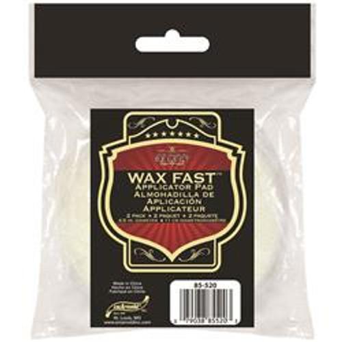 Wax Fast 2 Pack applicator Pads (85-520)